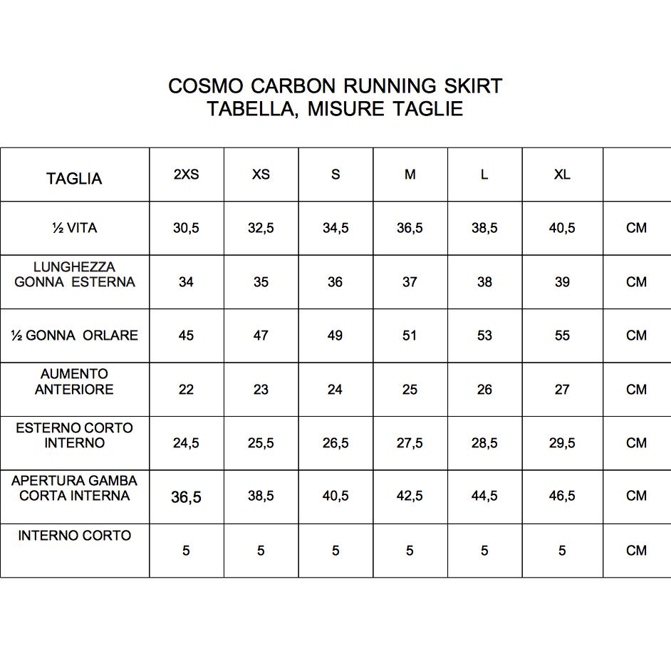 Cosmo Carbon Running Kit Woman